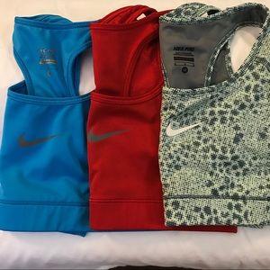 Nike Pro Swoosh Medium Support Sports Bra Bundle